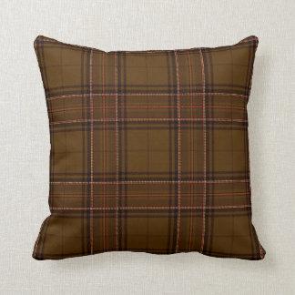 Brown Check Throw Pillows : Plaid Pillows - Decorative & Throw Pillows Zazzle