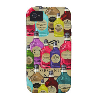 Magic Potion Apothecary Halloween Tonic Bottles Vibe iPhone 4 Covers