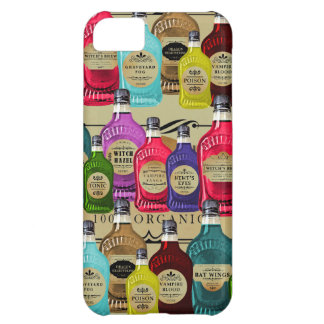 Magic Potion Apothecary Halloween Tonic Bottles Cover For iPhone 5C