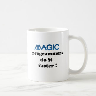 Magic programmers do it faster coffee mug