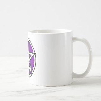 Magic Purple Pentagram Coffee Mug