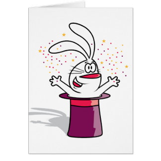Magic Rabbit Card
