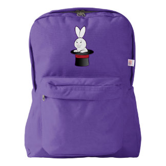 Magic: Rabbit in a Hat American Apparel™ Backpack