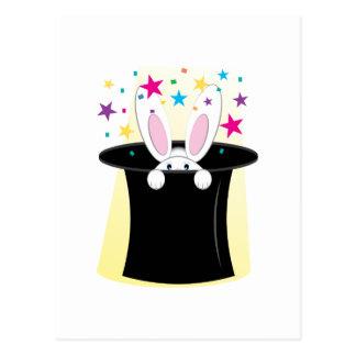 Magic Rabbit Post Card
