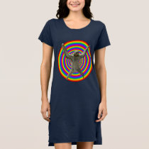 Magic Rainbow Sloth Dress