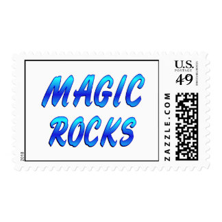MAGIC ROCKS POSTAGE