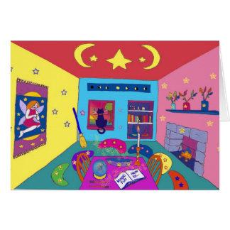 magic room card