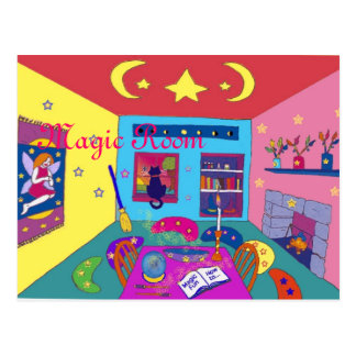 Magic Room Postcard