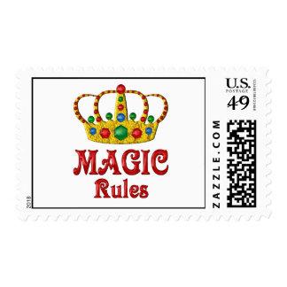 MAGIC RULES POSTAGE
