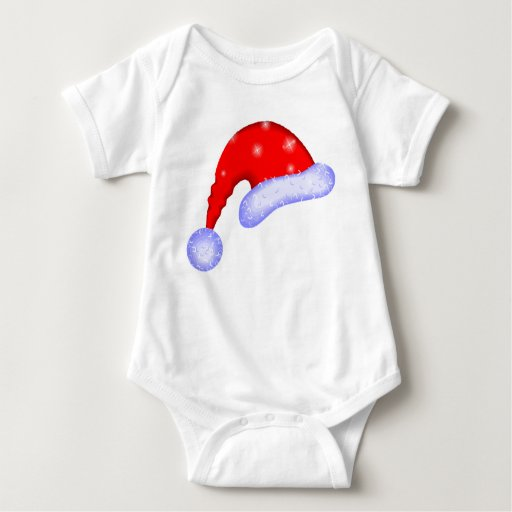 Magic Santa Hat Baby Bodysuit