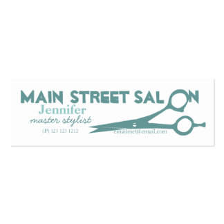 Magic Scissors Products Double-Sided Mini Business Cards (Pack Of 20)