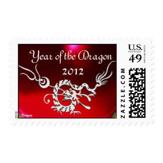 MAGIC SEA DRAGON ,Red Ruby Stamp