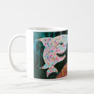 Magic shark mug