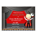 Magic Show birthday party Card