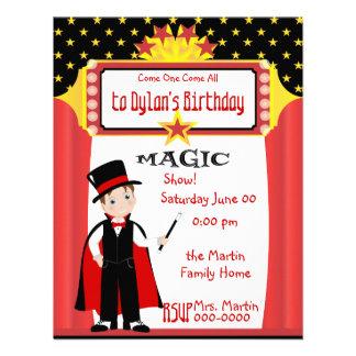 Magic Show Personalized Invitations