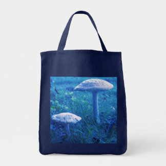 Magic Shroom In Blue Canvas Bags