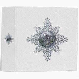 Magic Snowflake 3 Ring Binder