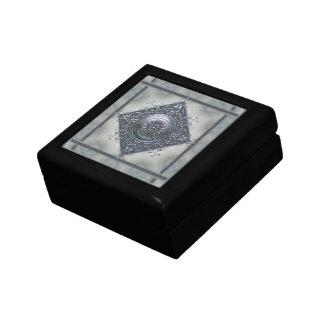 Magic Snowflake Denim Look Keepsake Box