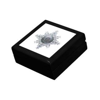 Magic Snowflake Jewelry Box