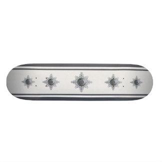 Magic Snowflake Skateboard Deck