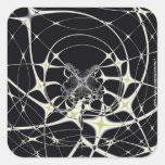 Magic Spiderweb Square Sticker