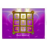 MAGIC SQUARE 33 CARD
