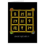 MAGIC SQUARE 33 CARDS