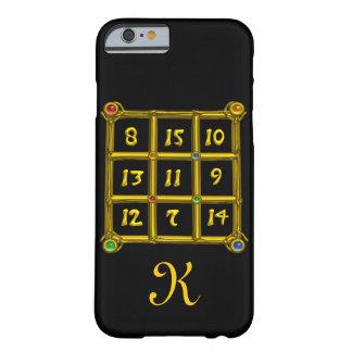 MAGIC SQUARE 33 MONOGRAM Black Barely There iPhone 6 Case