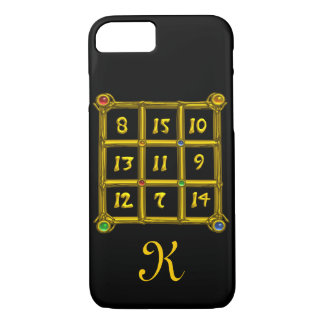 MAGIC SQUARE 33 MONOGRAM Black iPhone 7 Case