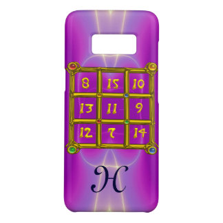 MAGIC SQUARE 33 MONOGRAM Pink Fuchsia, Purple Case-Mate Samsung Galaxy S8 Case