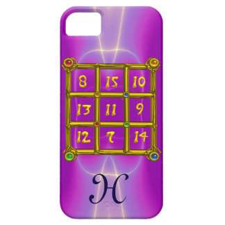 MAGIC SQUARE 33 MONOGRAM Pink Fuchsia, Purple iPhone SE/5/5s Case