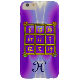 MAGIC SQUARE 33 MONOGRAM Pink Lilac, Purple Barely There iPhone 6 Plus Case