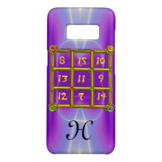 MAGIC SQUARE 33 MONOGRAM Pink Lilac, Purple Case-Mate Samsung Galaxy S8 Case