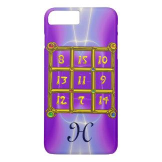 MAGIC SQUARE 33 MONOGRAM Pink Lilac, Purple iPhone 8 Plus/7 Plus Case