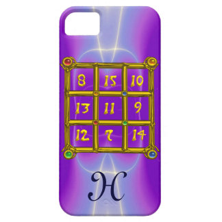 MAGIC SQUARE 33 MONOGRAM Pink Lilac, Purple iPhone SE/5/5s Case