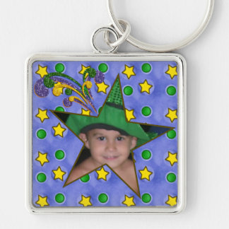 Magic Star Photo Frame Keychain