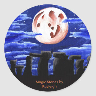 Magic Stones by Kayleigh Classic Round Sticker