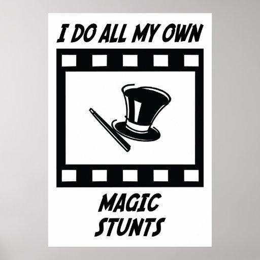 Magic Stunts Poster