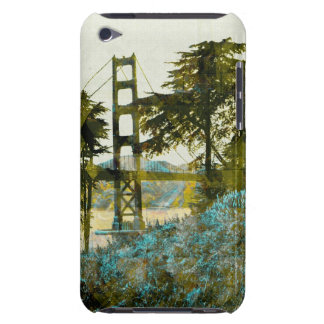magic sunset bridge Case-Mate iPod touch case