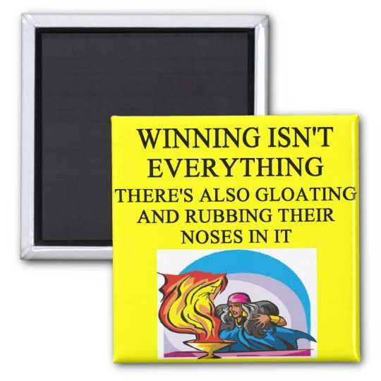 magic the gather and fantasy game joke magnet