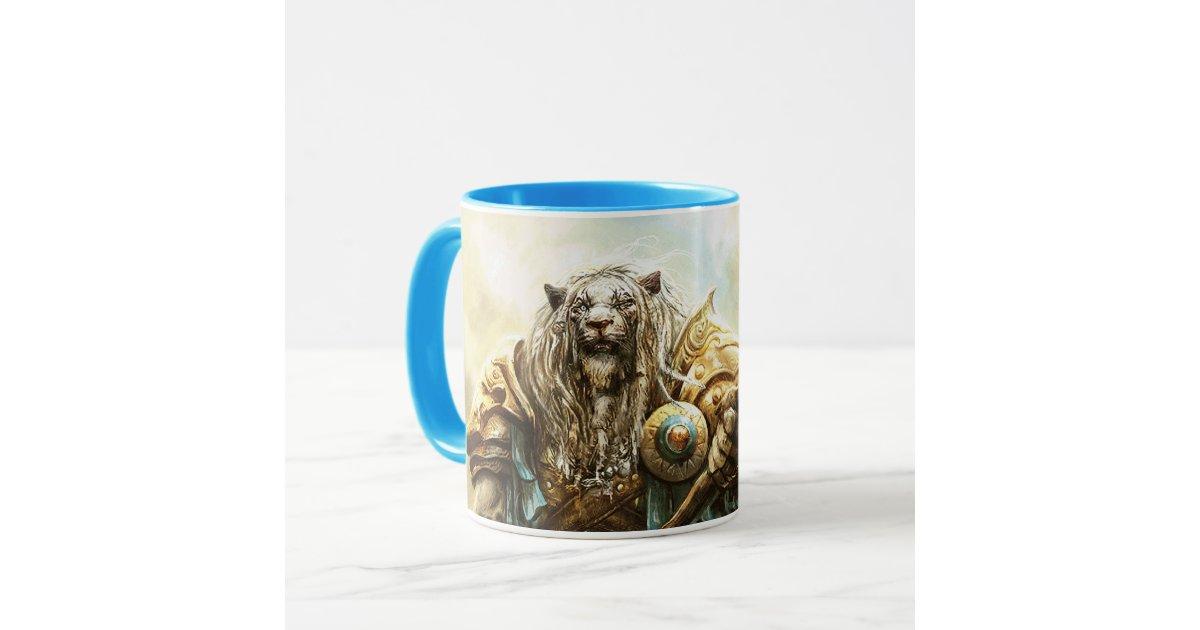%name Magic The Gathering Coffee Mug Magic The Gathering Ajani Goldmane Mug Zazzle