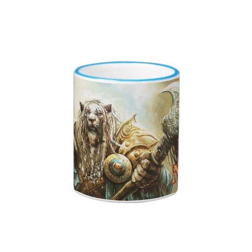 Magic: The Gathering - Ajani Goldmane Ringer Coffee Mug