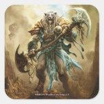 Magic: The Gathering - Ajani Goldmane Square Sticker
