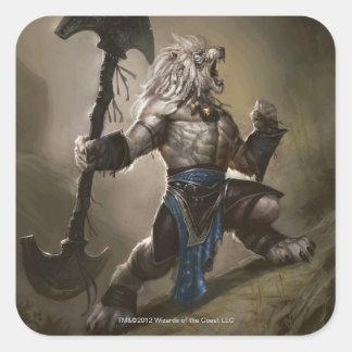 Magic: The Gathering� - Ajani Vengeant (alternate) Square Sticker