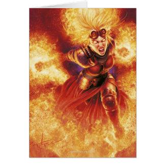 Magic: The Gathering - Chandra Ablaze Card