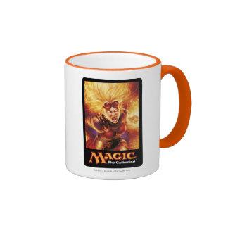 Magic: The Gathering - Chandra Ablaze Ringer Coffee Mug