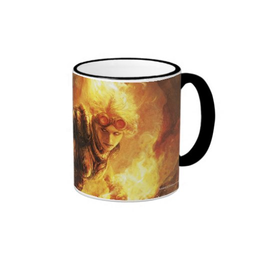 Magic: The Gathering - Chandra Nalaar Ringer Coffee Mug