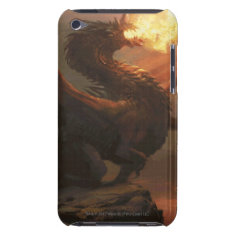 Magic: The Gathering - Flameblast Dragon Case-mate Ipod Touch Case at Zazzle