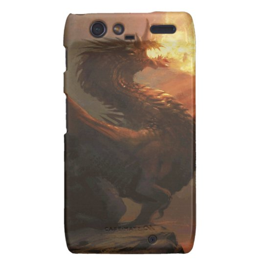 Magic: The Gathering - Flameblast Dragon Droid RAZR Cover