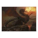 Magic: The Gathering - Flameblast Dragon Greeting Card